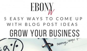 5 Easy Ways To Come Up Blog Post Ideas To Grow Your Business